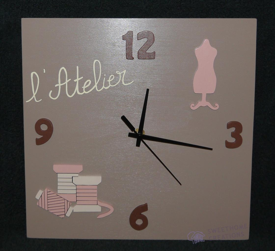 Horloge Atelier de couture