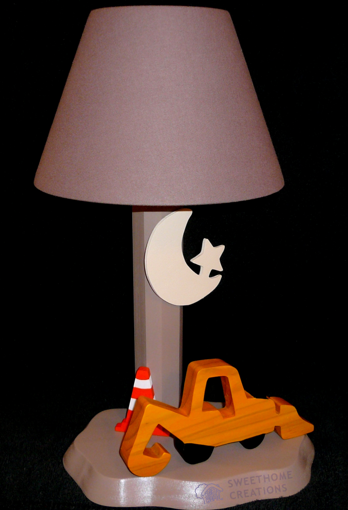 Lampe Tractopelle