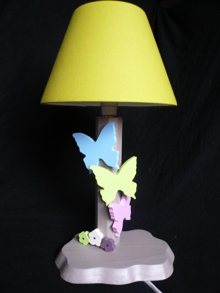 Lampe Schmetterlinge