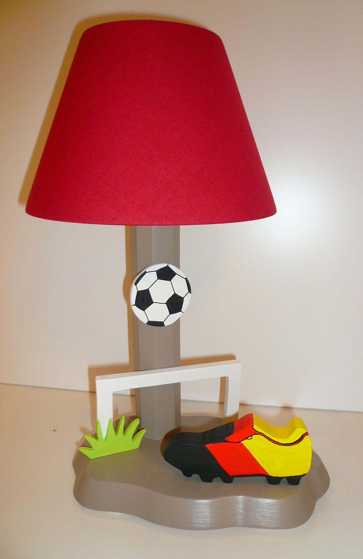 lampe fussball. Black Bedroom Furniture Sets. Home Design Ideas