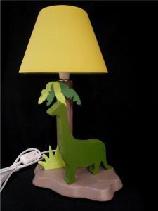 Lampe Dino vert