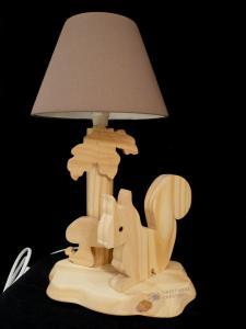 Nachttischlampe Eichhörnchen