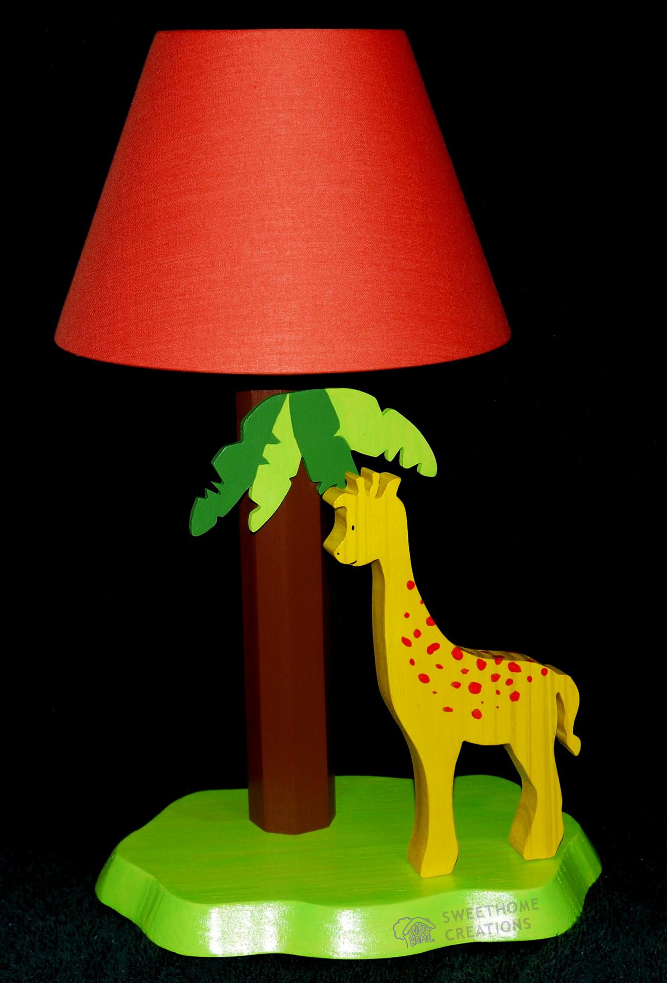 Lampe de chevet girafe for Lampe de chevet pour enfant