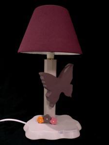 Lampe Schmetterling, violett