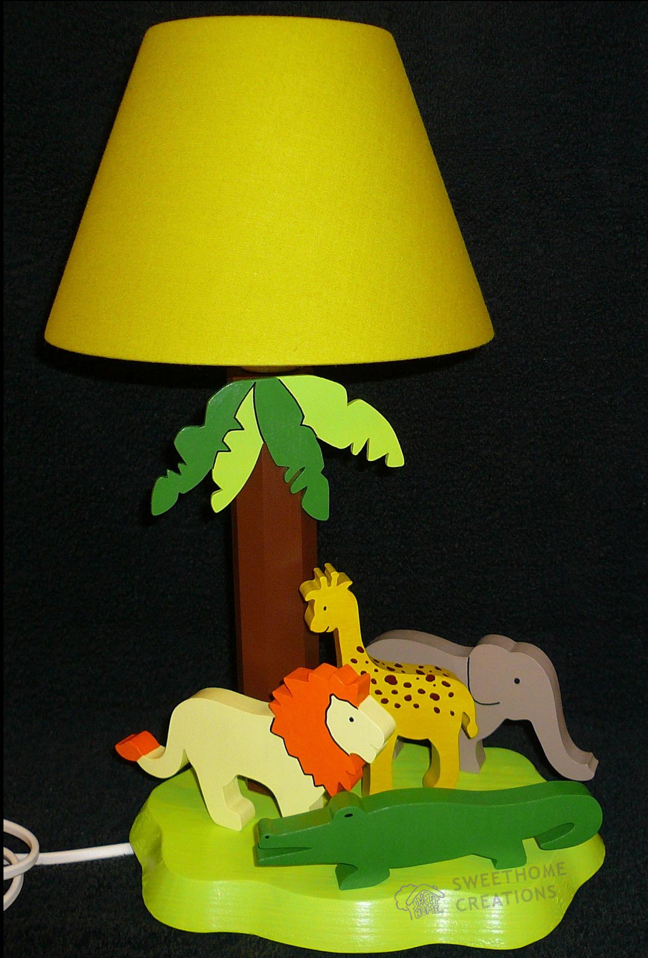 Lampe safari for Lampe de chevet nature