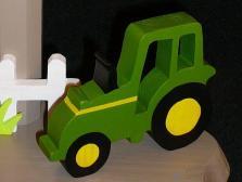 Lampe Traktor