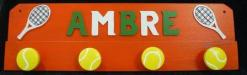 Kleiderhaken Tennis