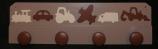 Patère véhicules taupe marron crème